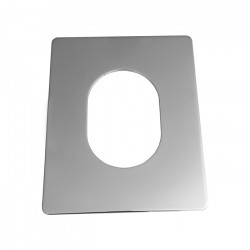 Fusion/Versadisc Backing Plate Rectangle Vertical