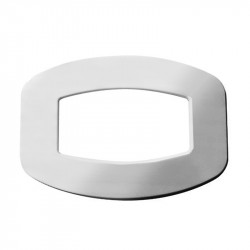 Backing Plate Oversize Chrome