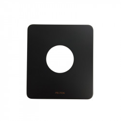 Que 50mm Faceplate Black
