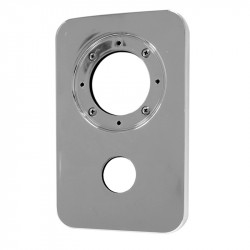 Aria 60mm Exposed Outer Faceplate Assembly