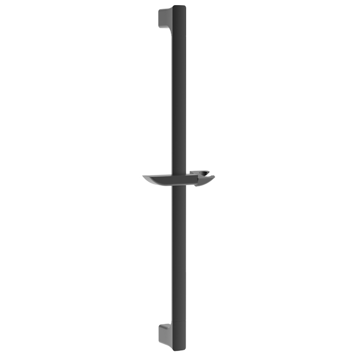Metal Soft Square Slide Rail Black