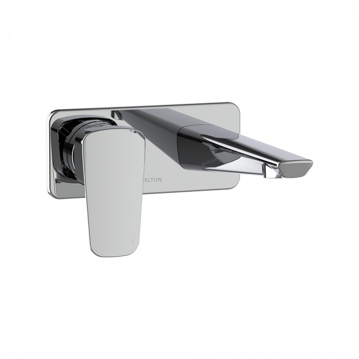 Axiss Wall Mounted Basin/Bath Mixer