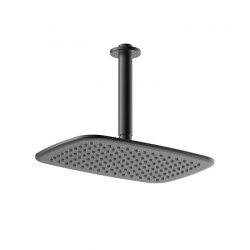 Axiss Rain Head Ceiling Mounted Black (180mm)