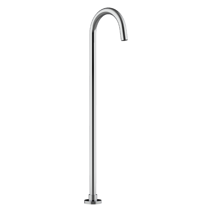 Luna Bath Filler Free Standing Spout only Chrome 01