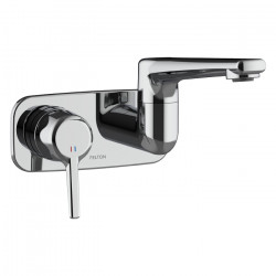 Max Wall Mounted Swivel Basin/Bath Mixer (medium)