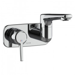 Max Wall Mounted Swivel Basin/Bath Mixer (short)