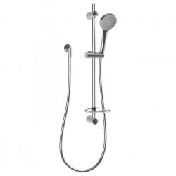 Reflex Single Spray Slide Shower