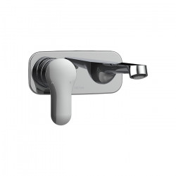 Slique Wall Mounted Basin Bath Mixer
