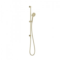 Tate Single Spray Slide Shower Brushed Gold