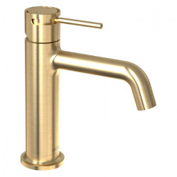 Tate Basin Mixer Brushed Gold