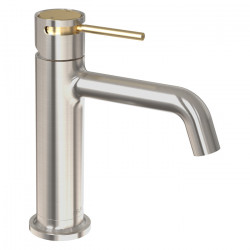 Tate Basin Mixer Brushed Nickel/Brushed Gold