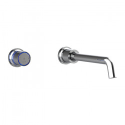 Tate Digital Wall Mounted Basin/Bath Mixer Chrome