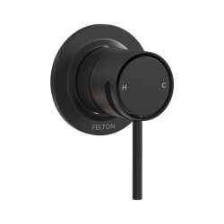 Tate Shower Mixer Matte Black