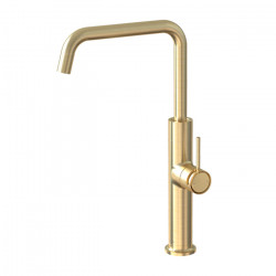 Tate Sink Mixer Brushed Gold