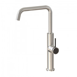 Tate Sink Mixer Brushed Nickel/Matte Black