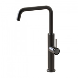 Tate Sink Mixer Matte Black/Brushed Gunmetal