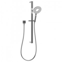 Urban II Single Spray Slide Shower White