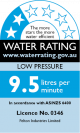 Low Pressure 2 Stars 9.5 Litres