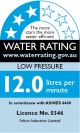 Low Pressure 3 Stars 12 Litres
