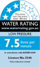 Low Pressure 3 Stars 7.5 Litres