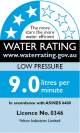 Low Pressure 3 Stars 9 Litres