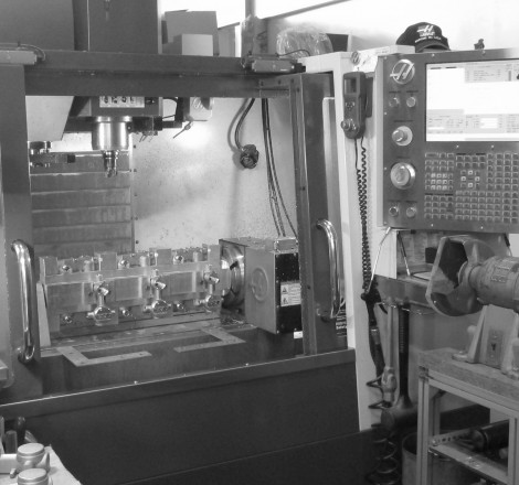 In House Capabilities: the CNC Machine