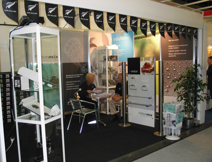 Felton became the first NZ Company to exhibit at ISH (International Sanitary & Heating) Frankfurt, Germany, the industries' biggest international trade fair