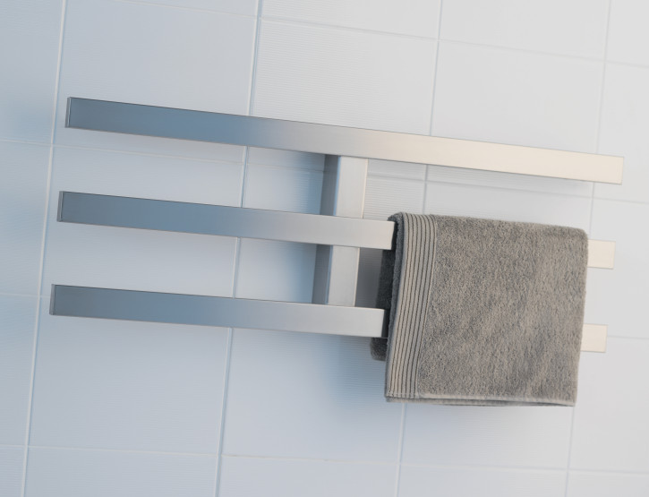 Product range broadened to include stainless steel towel warmers and accessories