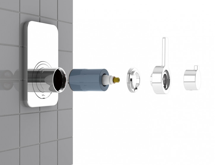Felton SmartFlow® Thermostatic Shower Mixer developed and launched