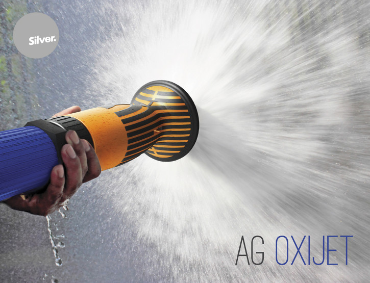 Ag Oxijet® Water saving wash down nozzle awarded Silver at Best Design Awards for conceptual/experimental product.