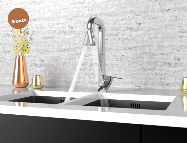 Axiss Range tapware awarded Bronze at Best Design Awards for consumer product