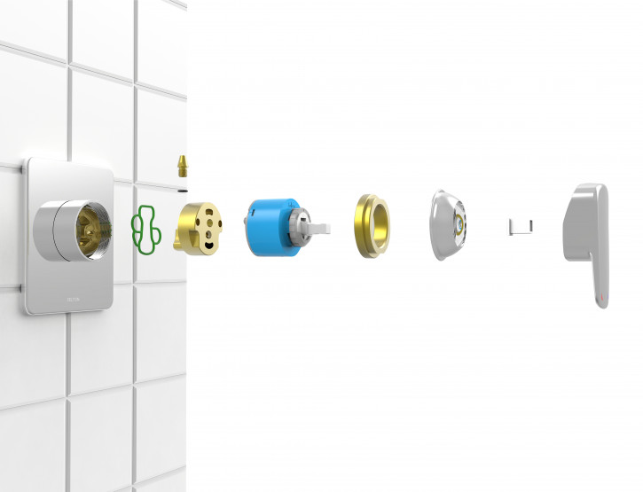 Fusion Plus® Shower Mixer developed and launched