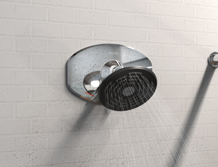 Feltonmix® Designer III wallsets and shower head launched